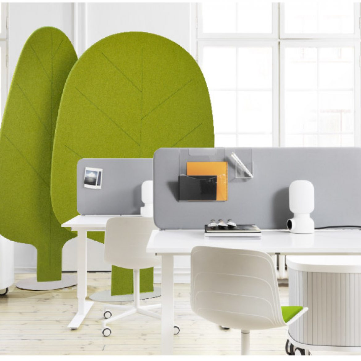 Acoustic Furniture-the Leaves Screen